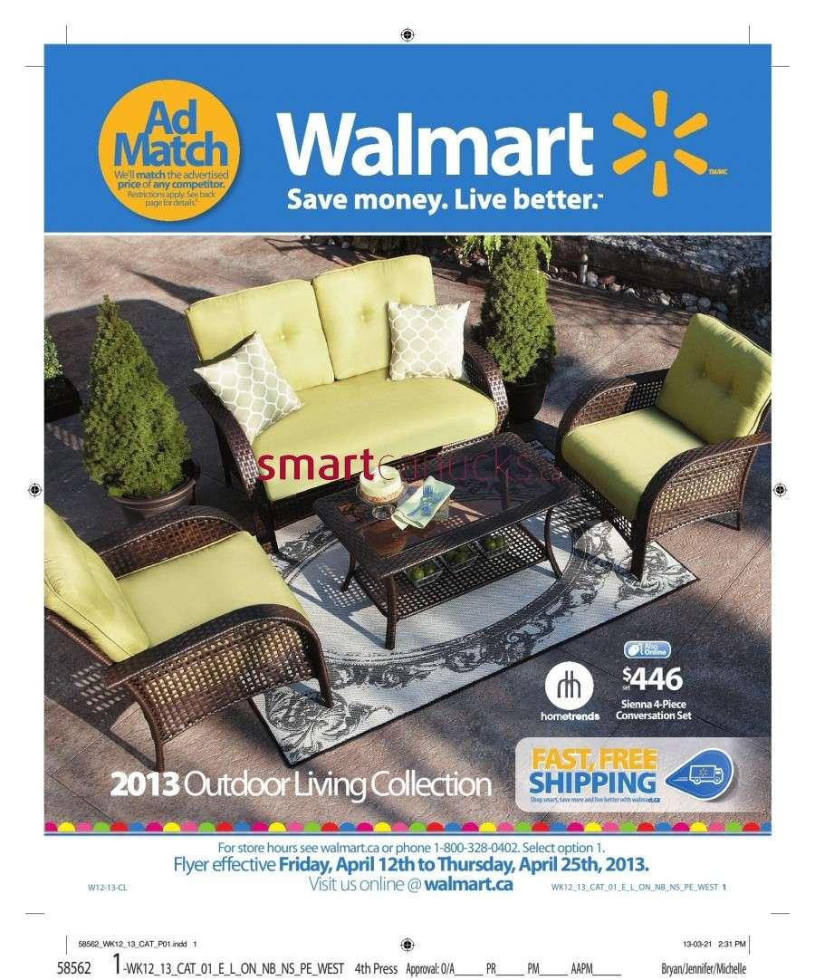 Walmart Outdoor Living flyer Apr 12 to 25 on Walmart Outdoor Living  id=24208
