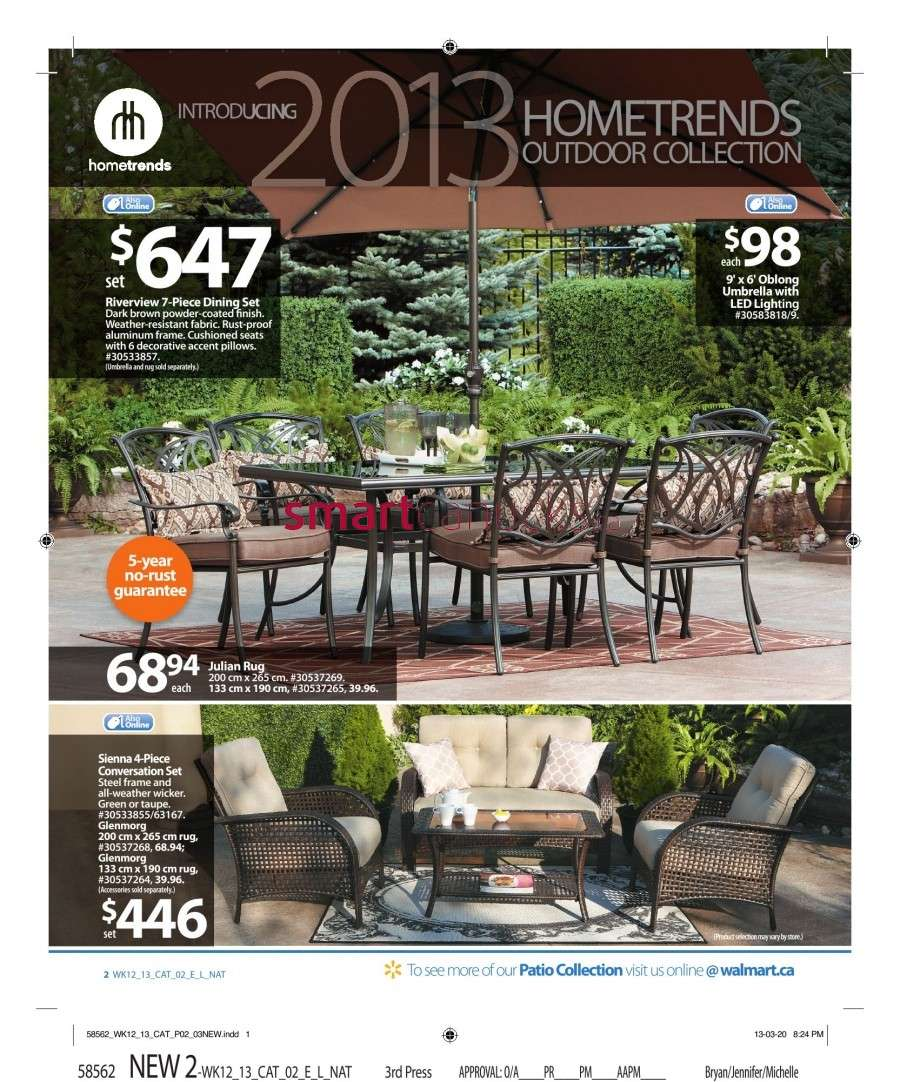 Walmart Canada Outdoor Living Flyer: Friday, April 12 to ... on Walmart Outdoor Living  id=89025