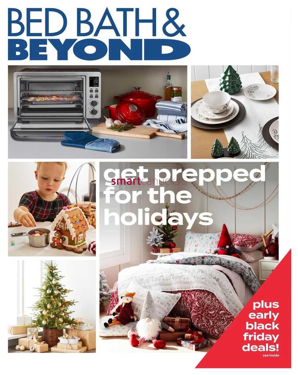 bed bath beyond flyer november 16 to 25