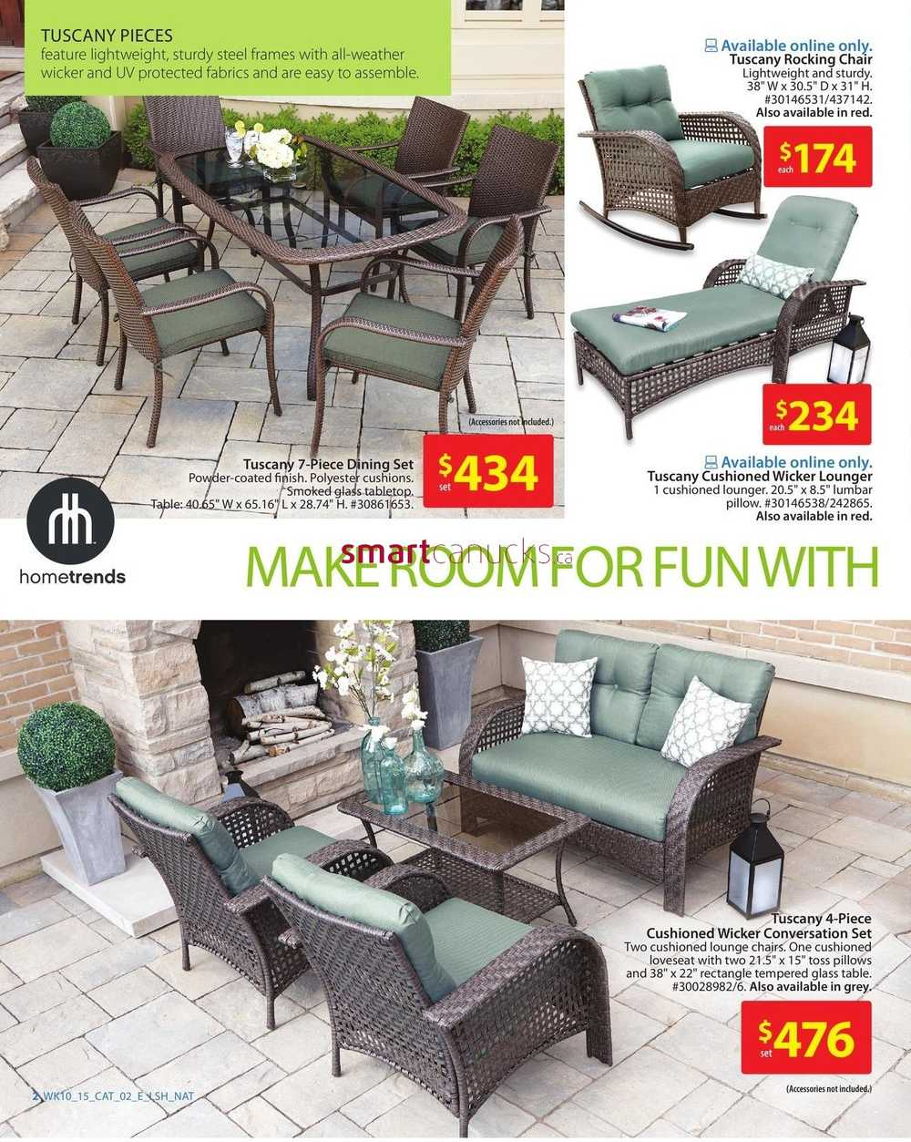Walmart Outdoor Living Catalog April 2 to 15 on Walmart Outdoor Living  id=89110