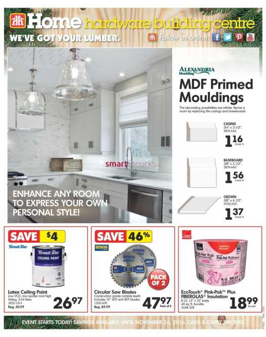 More Home Hardware Flyers