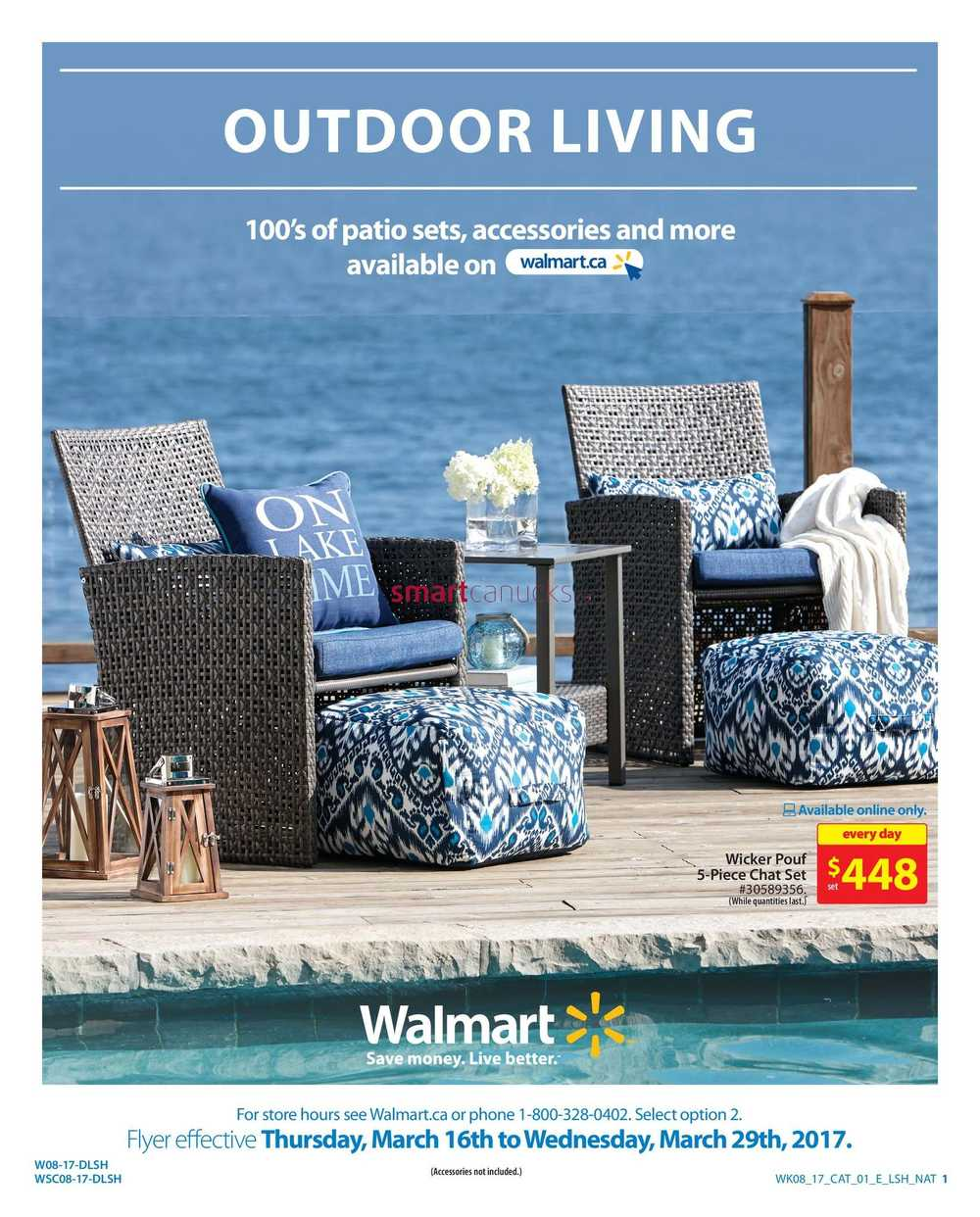 Walmart Outdoor Living Catalogue March 16 to 29 on Walmart Outdoor Living  id=26934