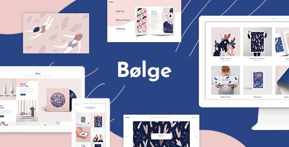Bolge – Artist Portfolio Theme – WP Theme Download