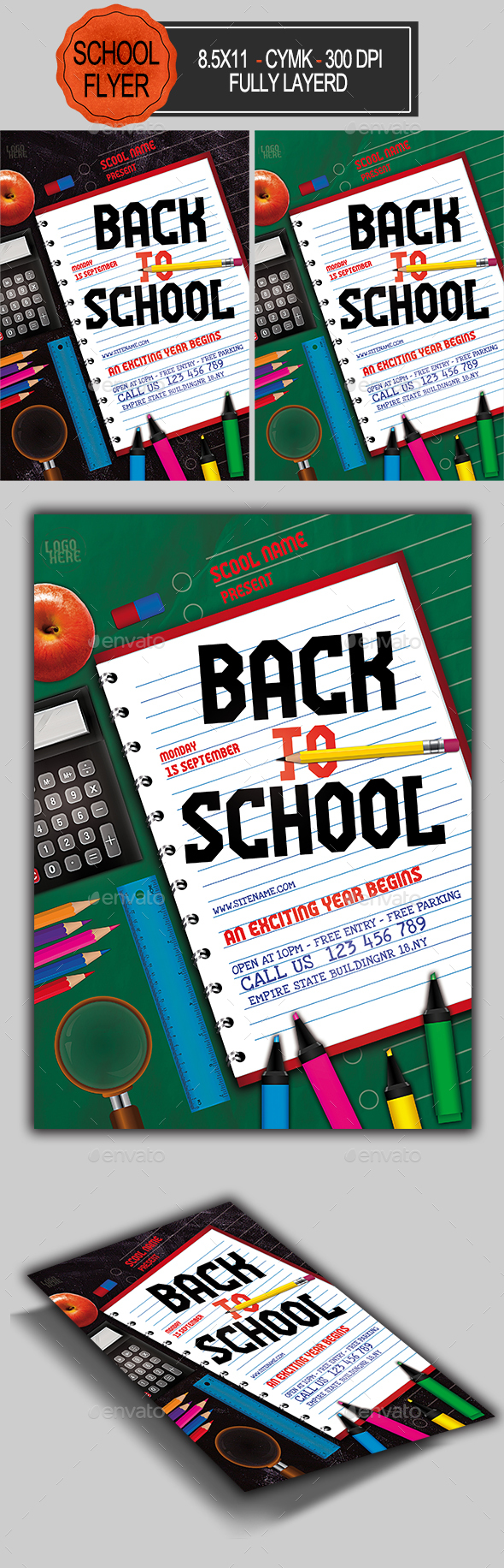 Flyers PSD – Relief to College Flyer – Download