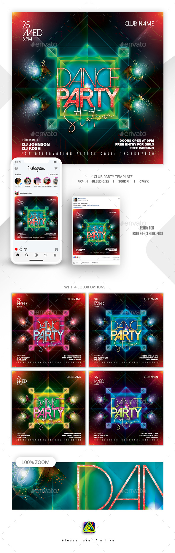 Flyers PSD – Membership Occasion Flyer – Download