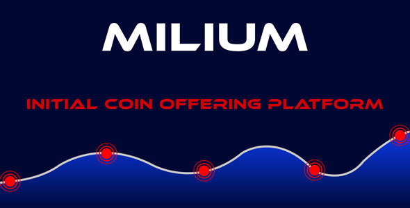 Milium – Preliminary Coin Offering ICO Script – PHP Script Download