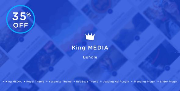 King MEDIA Bundle – Viral Magazine Script – PHP Script Download