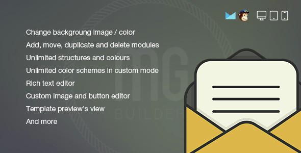 MG Builder – E-newsletter Creator – PHP Script Download