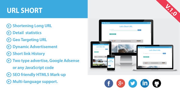 Quick URL with Commercials – PHP Script Download