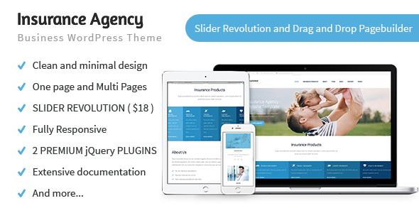 Insurance Company – Enterprise WP Theme – WP Theme Download