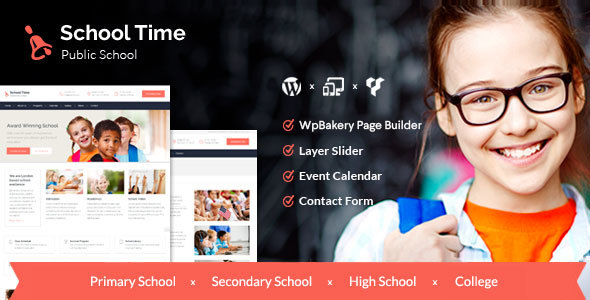 College Time – Recent Education WordPress Theme – WP Theme Download