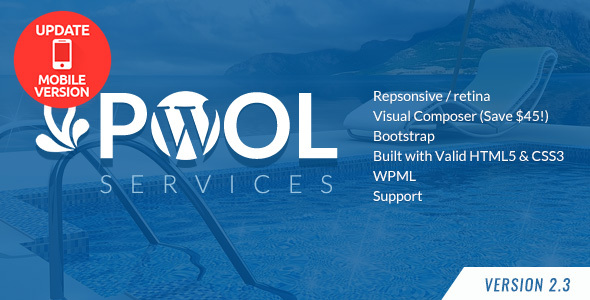 Pool Companies and products WordPress Theme – WP Theme Download