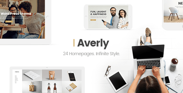 Averly – A Hip and Creative Multipurpose Theme – WP Theme Download