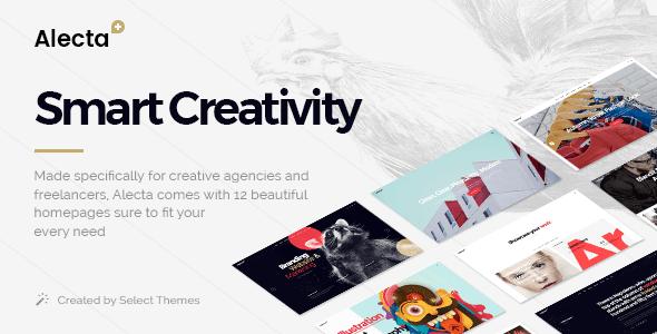 Alecta – Ingenious Agency Theme – WP Theme Download