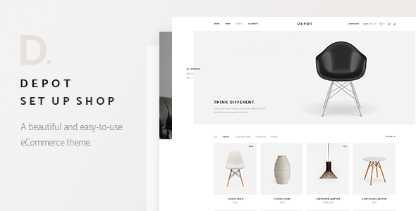 Depot – eCommerce Theme – WP Theme Download