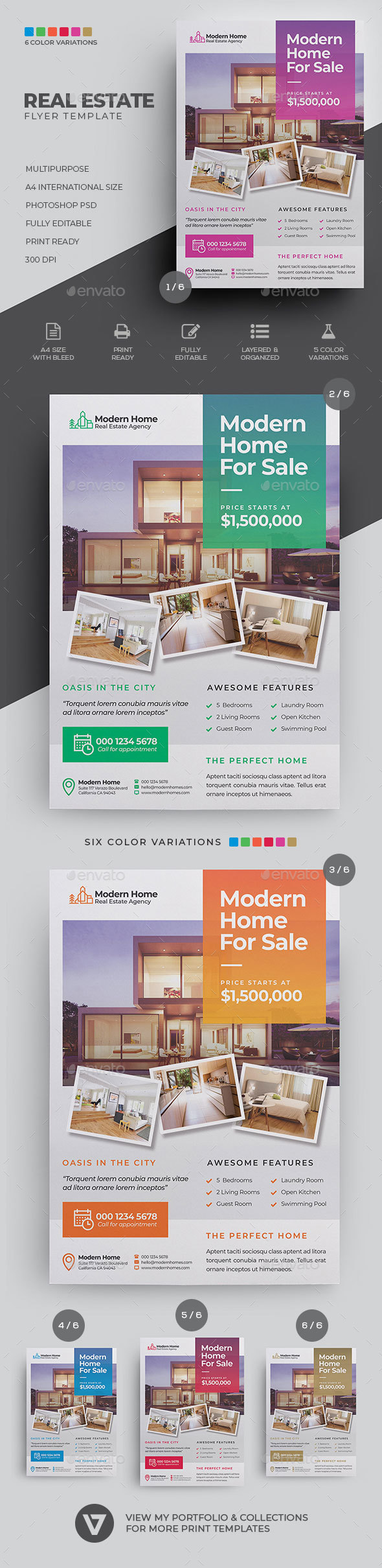 Flyers PSD – Proper Estate Flyer – Download