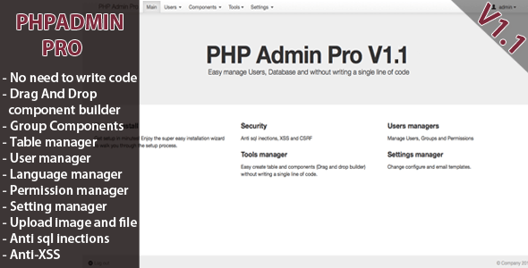 PHP Admin Skilled – PHP Script Download