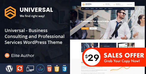 In trend – Commerce Consulting and Professional Companies and products WordPress Theme – WP Theme Download