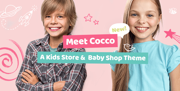 Cocco – Kids Store and Little one Store Theme – WP Theme Download