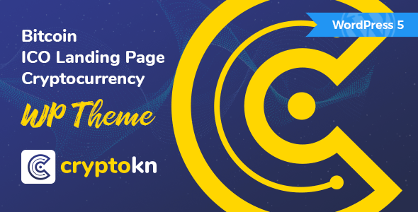 Cryptokn – ICO Touchdown Web dispute & Cryptocurrency WordPress Theme – WP Theme Download