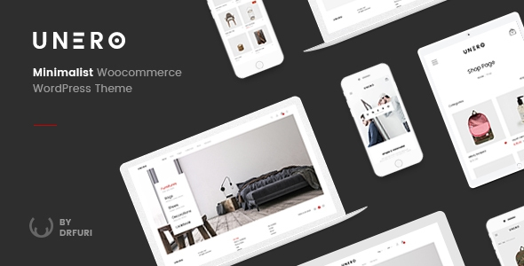 Unero – Minimalist AJAX WooCommerce WordPress Theme – WP Theme Download