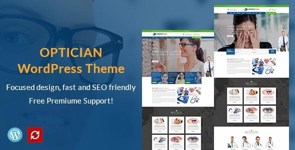 VisionBox – Optometrist & Survey Care WordPress Theme – WP Theme Download