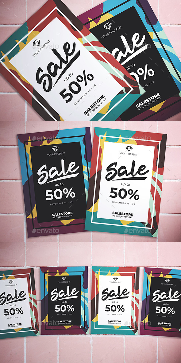 Flyers PSD – Summary Sale Flyer – Download