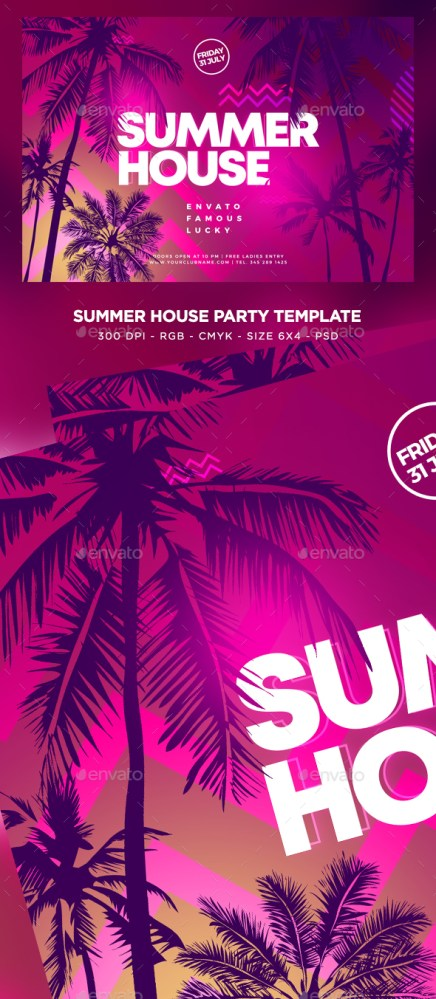 Flyers PSD – Summer Ranking together Flyer – Download