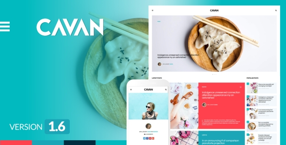 CAVAN – A Distinctive WordPress Weblog Theme – WP Theme Download