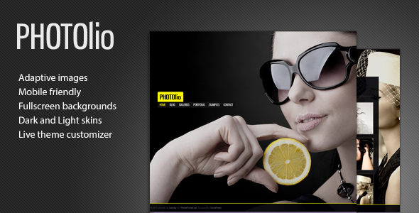 Photolio – Pictures – WP Theme Download