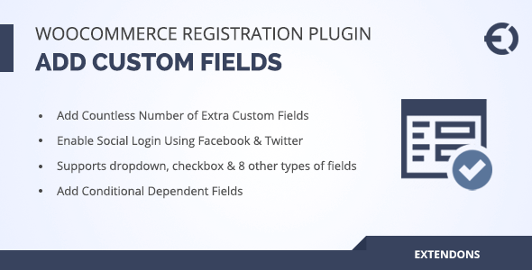 WooCommerce Registration Plugin: Customized Particular person Maintain Fields – PHP Script Download