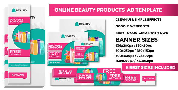 Product Promoting – GWD Ad Banners – PHP Script Download