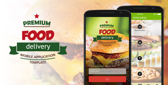 Food Supply Mobile Application Template – PHP Script Download