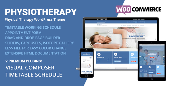 Physiotherapy – Bodily Therapy WordPress Theme – WP Theme Download