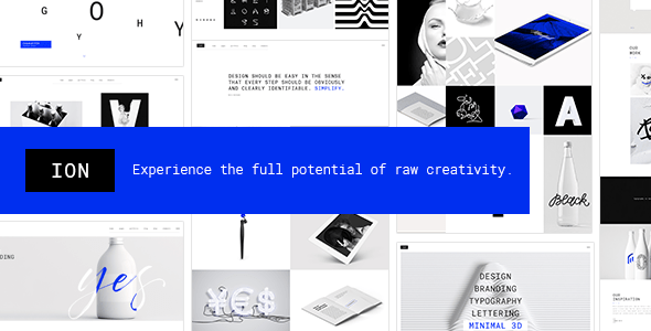 Ion – Inventive Portfolio Theme – WP Theme Download