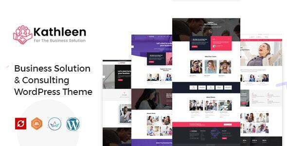 Kathleen – Industrial Consulting WordPress Theme – WP Theme Download