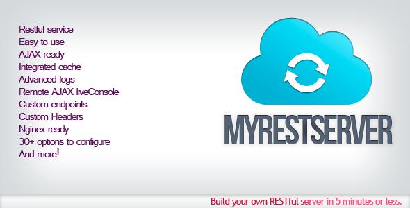 myRestServer – Easy REST Server – PHP Script Download