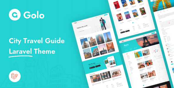 Golo – City Dart Manual Laravel Theme – PHP Script Download
