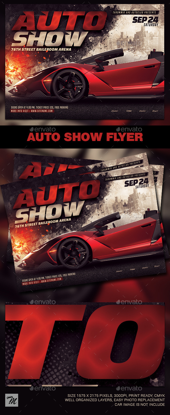 Flyers PSD – Auto Level to Flyer – Download