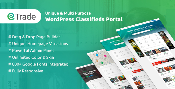 Trade – Smartly-liked Categorised Commercials WordPress Theme – WP Theme Download