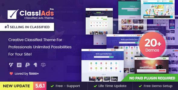 Classiads – Labeled Adverts WordPress Theme – WP Theme Download