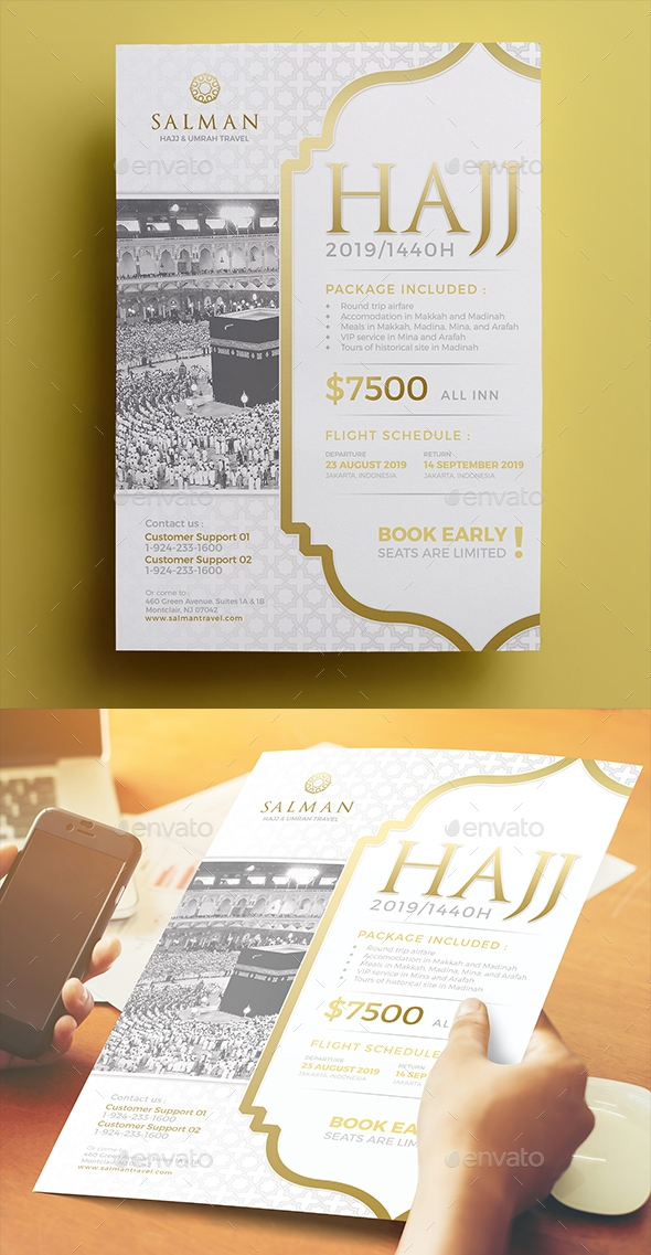 Flyers PSD – Hajj Flyer 04 – Download