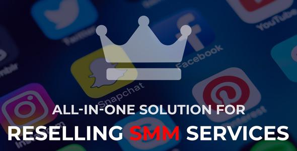 SMMKING – Social Media Marketing Panel – PHP Script Download