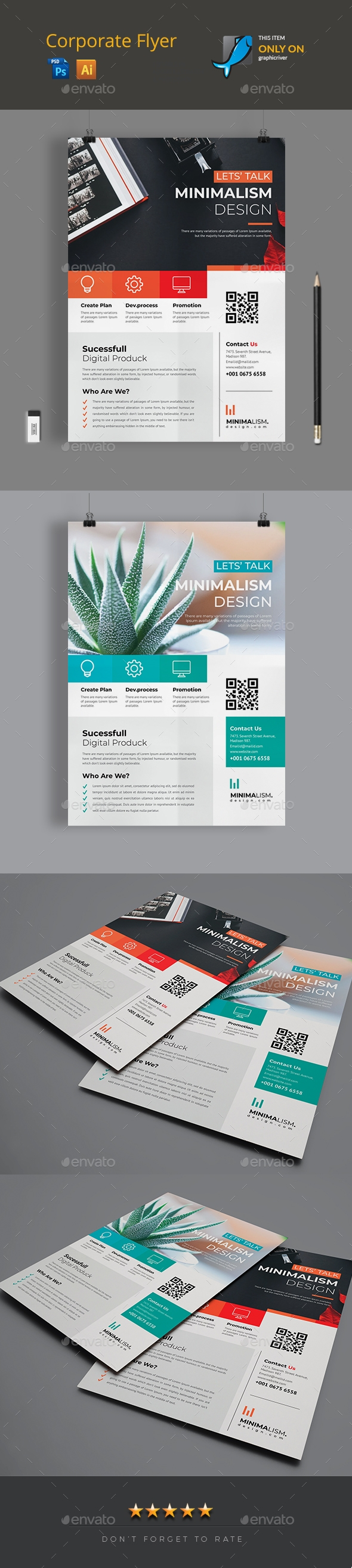 Flyers PSD – Corporate Flyer – Download