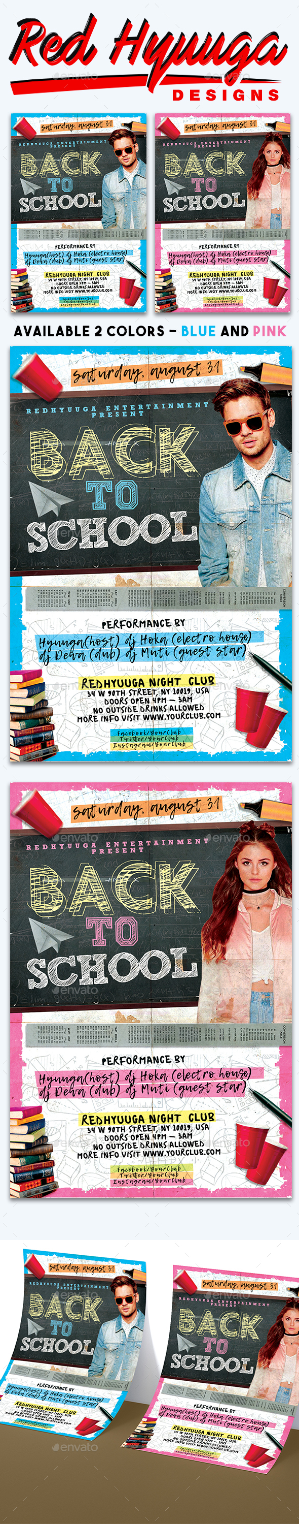 Flyers PSD – Back to School Flyer – Download