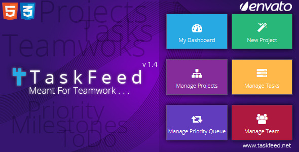 Taskfeed Project Management Software – PHP Script Download