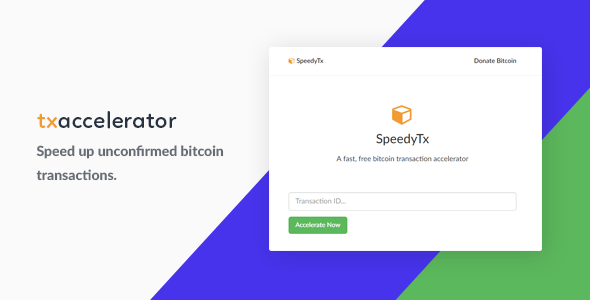 Bitcoin Transaction Accelerator – PHP Script Download