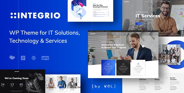 Integrio – IT Solutions and Products and services Company WordPress Theme – WP Theme Download