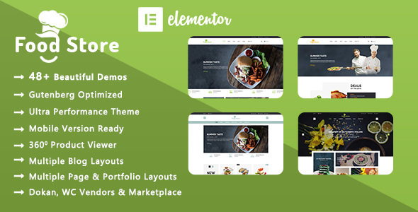 Meals Store | Natural & Restaurant WooCommerce WordPress Theme – WP Theme Download