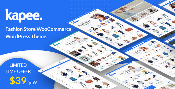 Kapee – Fashion Store WooCommerce Theme – WP Theme Download